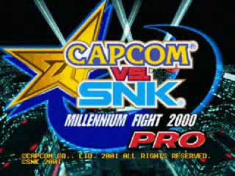 Capcom vs SNK Pro SFII Ryu's theme Remix