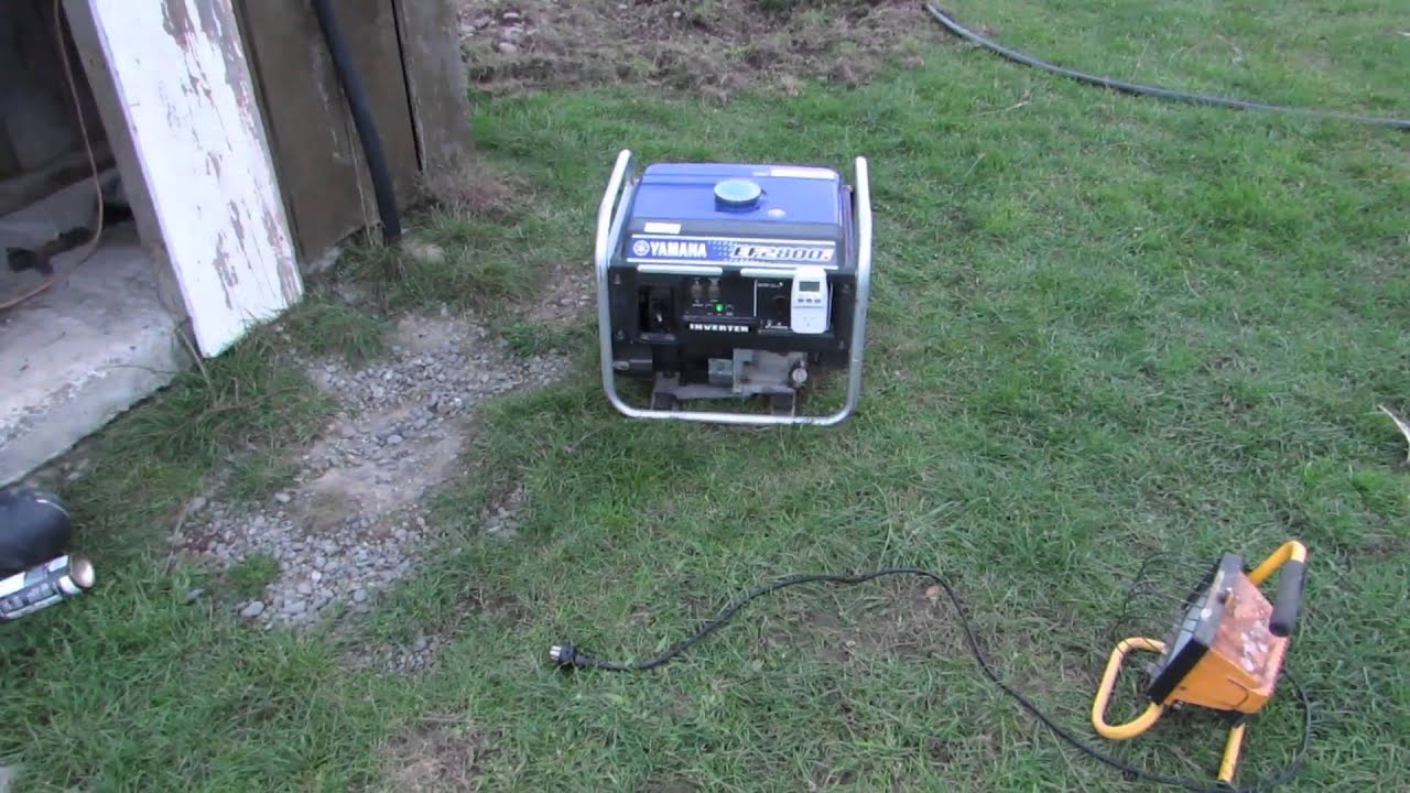 medium resolution of yamaha ef2800i inverter generator surging hunting