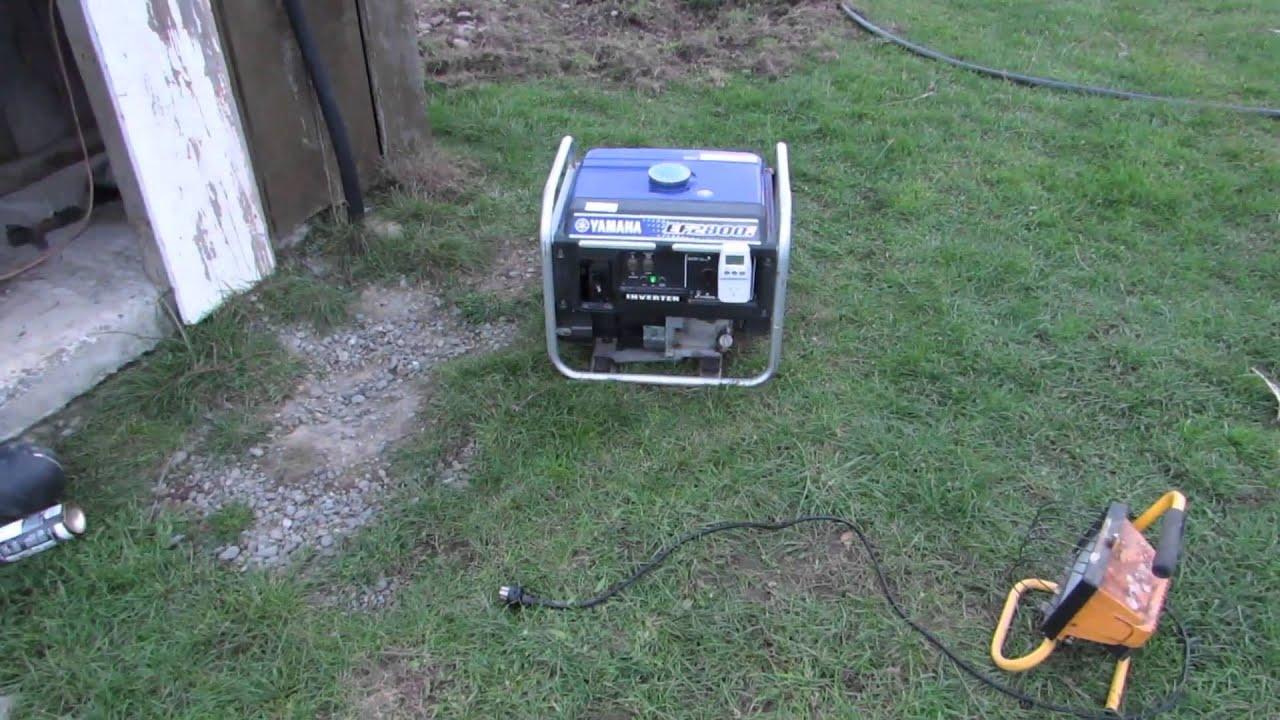Yamaha EF2800I Inverter Generator Surging Hunting