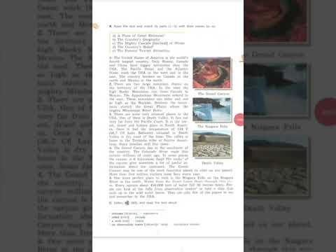 RAINBOW ENGLISH  7 класс стр. 91 упр. 6 B