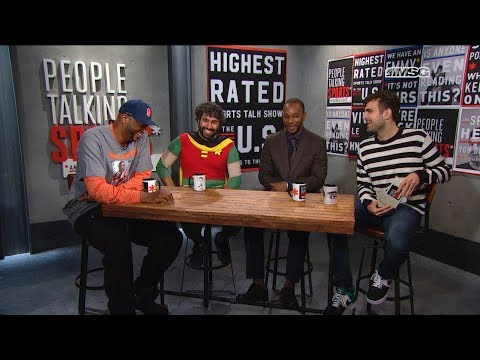 People Talking Sports* Episode 42   Cam'ron & John Wallace   MSG Networks   Aired October 30