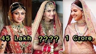 Video 10 Most Expensive Wedding Dresses of Bollywood Actress | Shocking Prices download MP3, 3GP, MP4, WEBM, AVI, FLV Juli 2018
