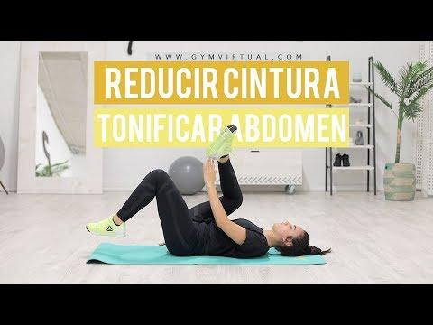 Ejercicios para reducir cintura y tonificar abdomen | GymVirtual