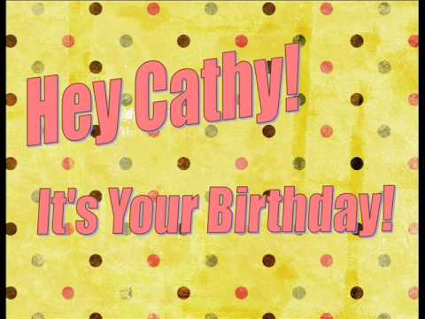 Cathy's Birthday Song from Captain Zoom