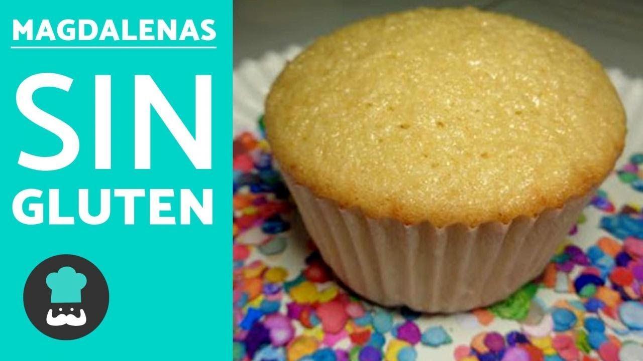 Magdalenas Sin Gluten Recetas De Cupcakes Sin Gluten Esponjosos Youtube