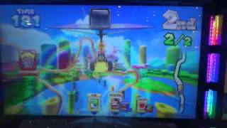 Mario Kart Arcade GP DX - Peach  Castle