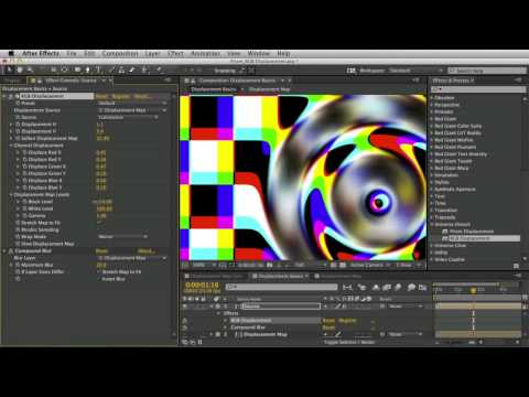 Getting Started With Universe RGB Displacement And Prism Displacement
