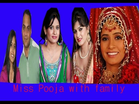 Miss Pooja with family | Bio data | Brother | sister | marriage | childhood | hit songs| films |