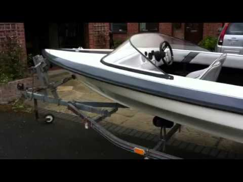 Speed ski boat 14 foot