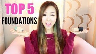 MY TOP 5 FOUNDATIONS/BB CREAMS ♥ 5위 추천 파운데이션/비비크림!