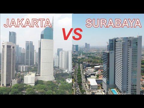 Kota Jakarta VS Kota Surabaya 2019, Kota Terbesar di Indonesia dan Ibukota Provinsi Jawa Timur