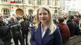 Black Lives Matter - Peaceful Oxford Protest - BBC South Today