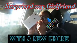 SURPRISED MY GIRLFRIEND WITH A NEW IPHONE 11 (WELL KINDA)