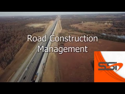 SSI Drone's Road Construction Service