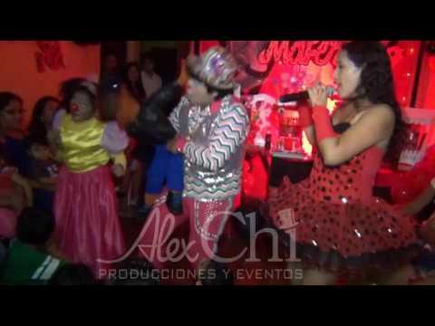 Ladybug show payaso Chichiko