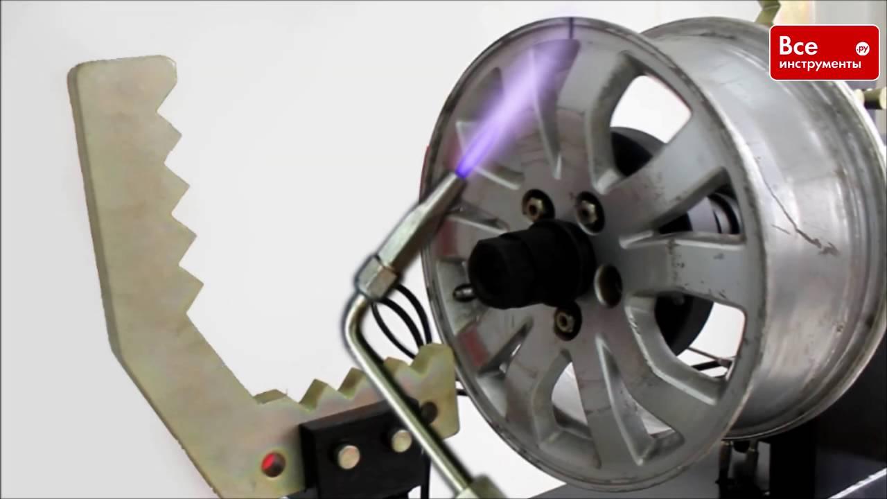 Станок по правке литых дисков своими руками