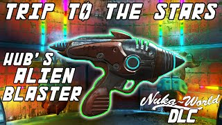 Fallout 4 - Nuka-World DLC - Trip to the Stars Quest and Hub's Alien Blaster