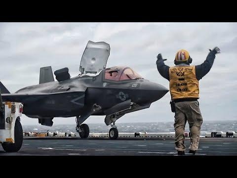 F-35B Lightning II • First Deployment On USS Wasp (2018)