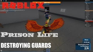 Roblox: Prison Life: DESTROYING cops
