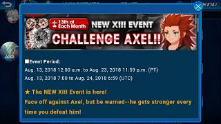 [KHUx Event] New XIII Event Challenge Axel - Organization XIII Challenge Axel 1/13