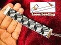 Gambar cover Loom Beading  Loom Beaded Bracelet  How to do loom beading
