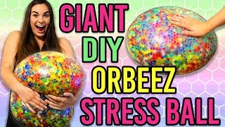 DIY GIANT ORBEEZ STRESS BALL TESTED!!(, 2016-07-15T15:57:45.000Z)