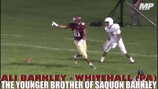 Highlights of Saquon Barkley's little brother