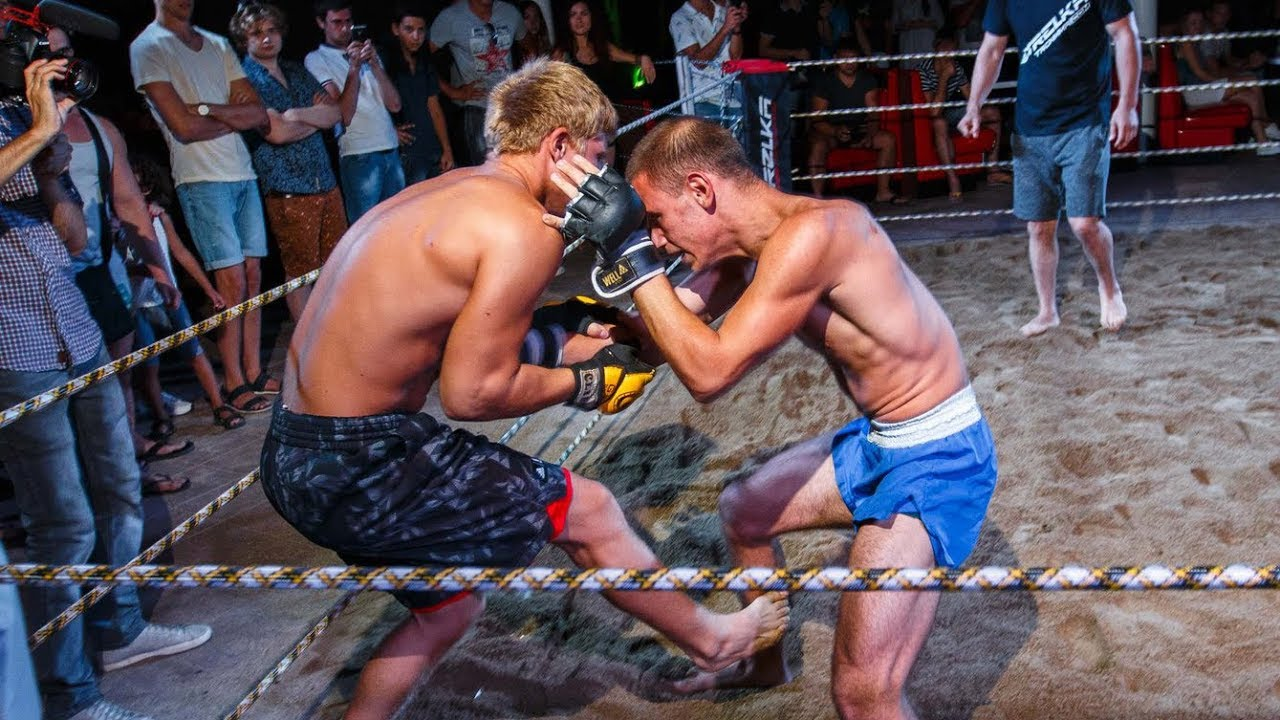 Young Thai Boxer vs Russian Street Fighter