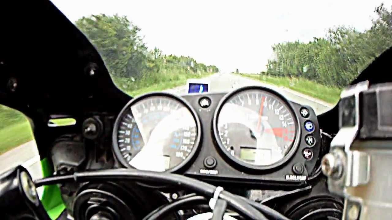 kawasaki zx6r top speed 160 mph