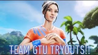 Coupe du Monde Fortnite!! - TeamGTU Tryouts!! [] Chat Spam pour entrer Giveaway