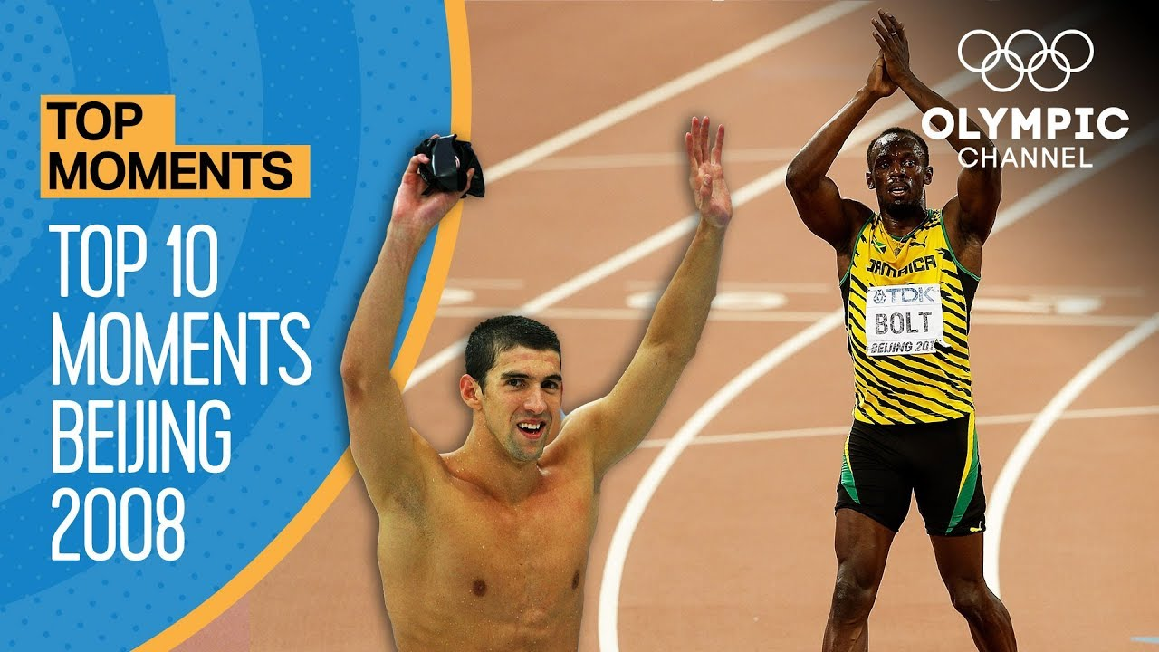Top 10 Olympic Moments Beijing 2008