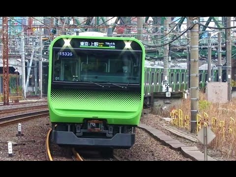 JR E235 series new Yamanote line train  JRE235系新山手線