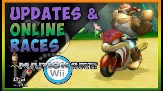 Mario Kart Wii Online Races - Back to School Updates & Connor Stories!