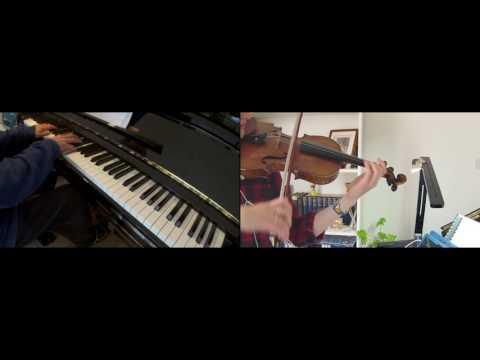 'On A Clear Day' (Hareta Hini), Kiki's Delivery Service, Violin & Piano Duet