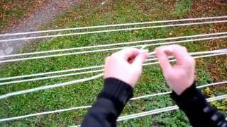 видео Потолочная сушилка для белья: виды и их размеры