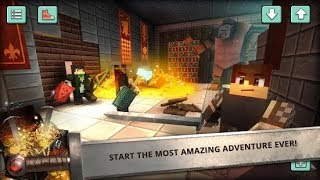 Craft the Adventure (by Fat Lion Games: Crafting & Building Adventure) / Android Gameplay HD
