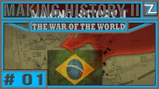 Making History II The War of the World - Brasil [1] iniciando na brutalidade pt-br / gameplay
