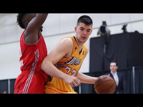 Lakers Rookie Ivica Zubac NBA D-League Highlights: November 2016