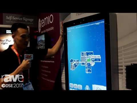 DSE 2017: Premio Talks About Fully Customizable Healthcare Signage Display