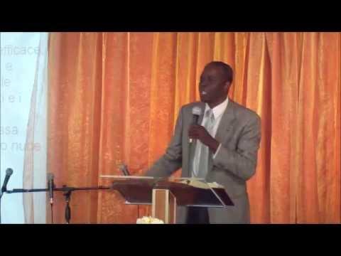 Predicazione del Past. Jeffrey del 19/05/2013. Chiesa Effatà-Cagli (PU)