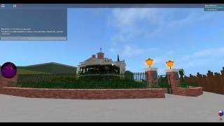 Haunted Mansion a Roblox (Disney Ride)