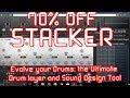 "70% off ""Stacker"" Drum Design Tool Plugin by Sample Magic (VST/AU/AAX)"