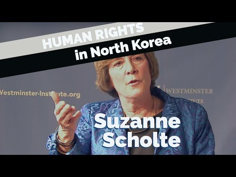 Suzanne Scholte: The Battle for Human Rights in North Korea