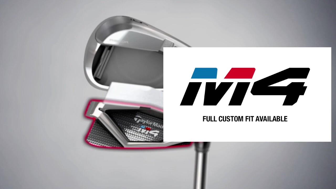TaylorMade Golf M4 Irons - Steel | Clickgolf co uk