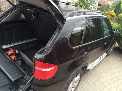 Поиск и Замена аккумулятора на BMW X5 E70 diesel Battery Replacement BMW X5