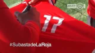 ¡Participa de la #SubastaDeLaRoja y apoyemos a Pablo Otárola!
