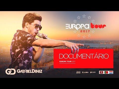 Gabriel Diniz - Tour Europa  Documentário