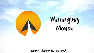 #12 : Managing money - Arise! (English)