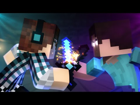 Minecraft Animação : AUTHENTIC VS HEROBRINE  ( Minecraft Animation )