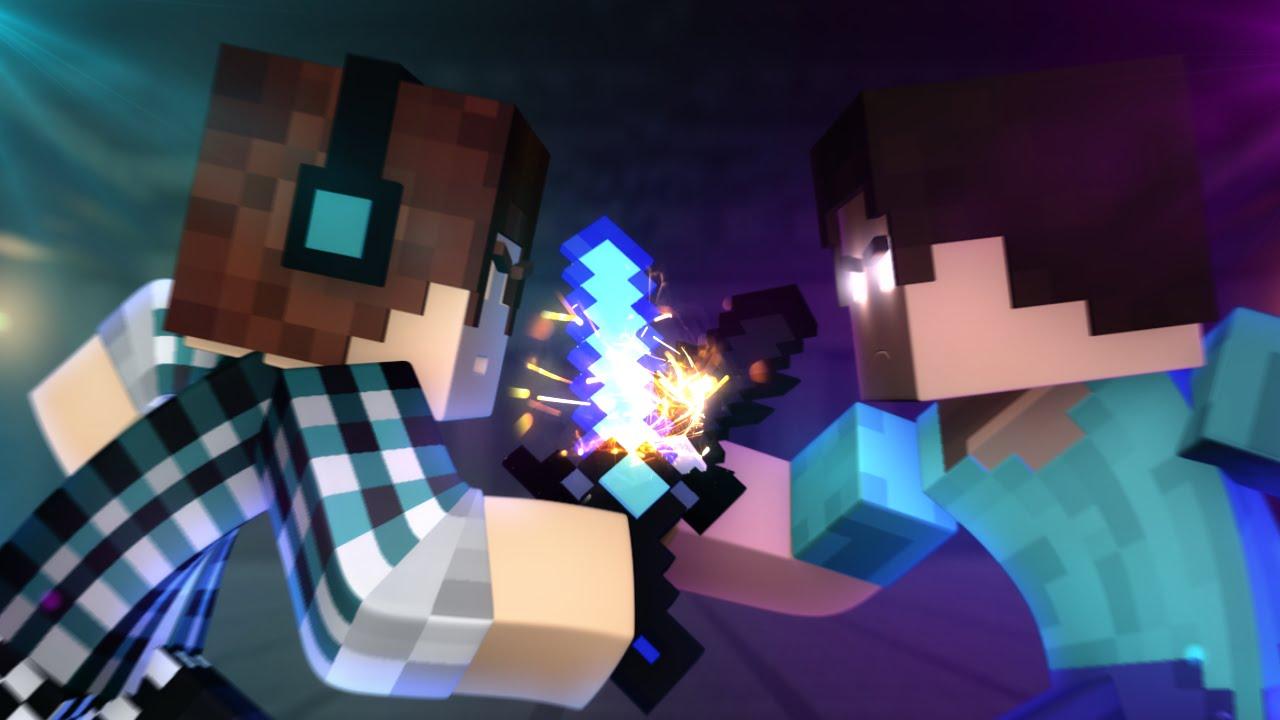 Minecraft Animation Wallpaper Minecraft Anima 231 227 O Authentic Vs Herobrine Minecraft